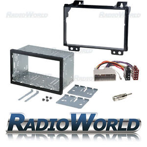 Ford-Fiesta-fusion-Doble-Din-Fascia-Panel-Adaptador-Placa-Cage-Kit-de-montaje-ISO