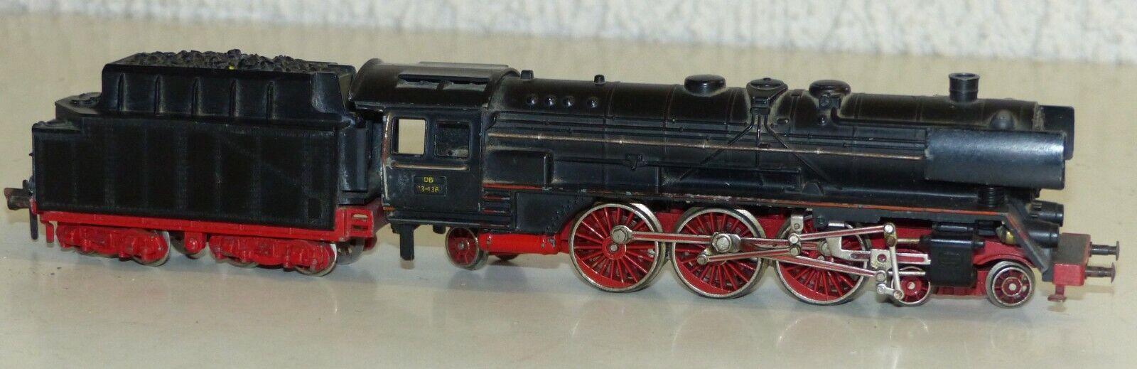 Fleischmann 1361-64 máquina de vapor schlepptenderlok Spur h0 1 87 rar
