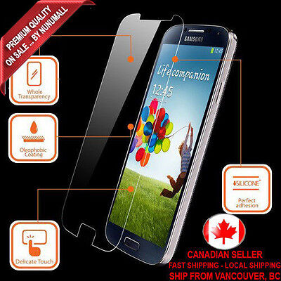 Genuine 9H Nuglas Tempered Glass Screen Protector for Samsung Galaxy S4