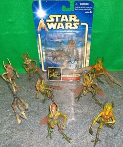 Star-Wars-AOTC-Geonosian-Massiff-Action-Figure-Lot-Used