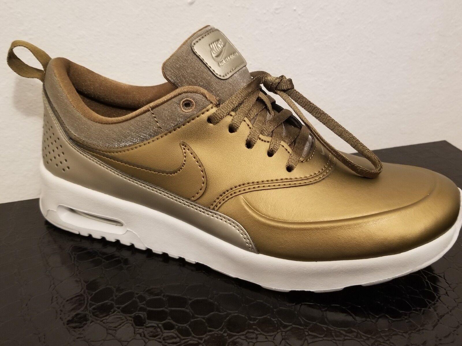 Nike Nike Nike Air Max Thea Premium Women Sneakers Metallic