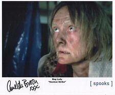 "Spooks MI-5 Auto Photo Amelda Brown ""Bag Lady"""