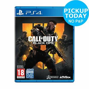 Call of Duty: Black Ops 4 Sony Playstation PS4 Game.