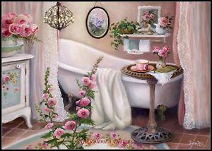 Chart-Needlework-DIY-Counted-Cross-Stitch-Patterns-My-Bathroom