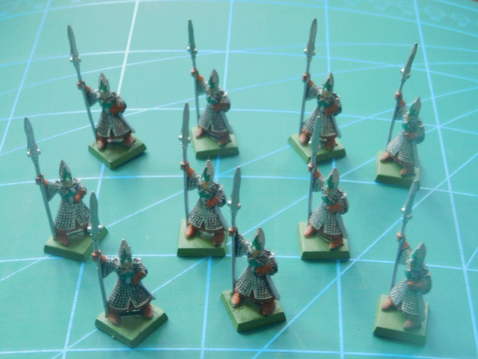 10 WARHAMMER 40k Dungeon Dragons Soldato Guerriero  Dipinto cifra in plastica  vendita di offerte