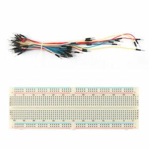 830 tie punto soldadura de PCB Protoboard Mb102