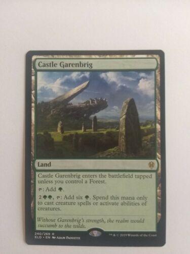 Castle Garenbrig Throne of Eldraine MTG Magic New Never Used