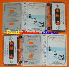MC CONCERTO GROSSO Romanze vol.1 VOL.2 ENRICO CARUSO MARIA CALLAS cd lp dvd vhs