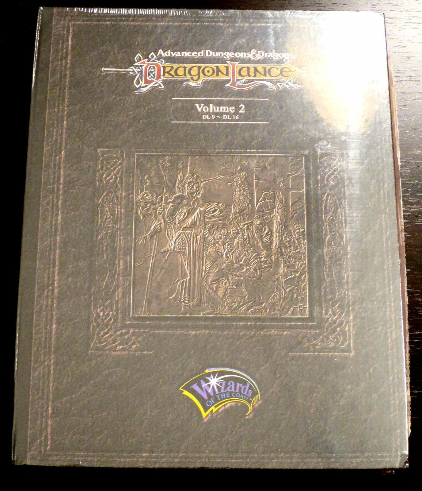 Dragonlance Slipcase Module Set Vol 2 - sealed but with some damage
