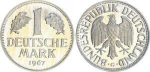 DM Moneda de Curso 1967G Pp Pulida Placa 57870