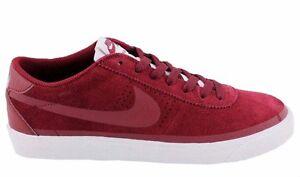 Nike BRUIN SB PREMIUM SE Team Red White Skate Discounted (409) Men's Shoes