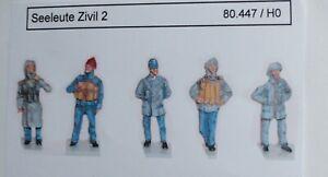 Artmaster-80-447-Figuren-Seeleute-Zivil-2-Bausatz-H0-1-87-Resin