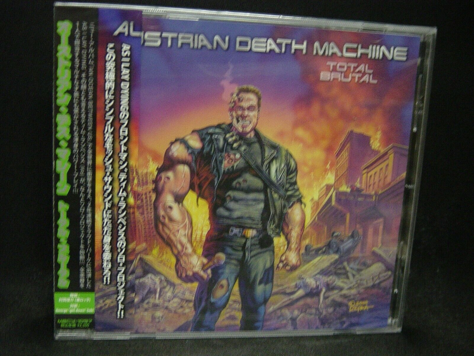 Austrian Death Machine Total Brutal Japan Cd As I Lay Dying Us