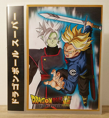Classeurs Albums Carddass Dragon Ball Super Binder Farde DBZ DBS cartes cards