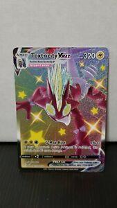 Pokemon Card Shiny Toxtricity Vmax Sv113/Sv122 Full Art, Shining Fates NM-MINT