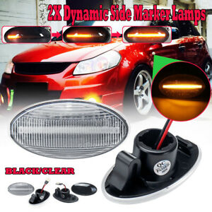 Dynamic-LED-Side-Marker-Indicator-Repeater-For-Suzuki-Swift-Alto-SX4-Jimmy-DY