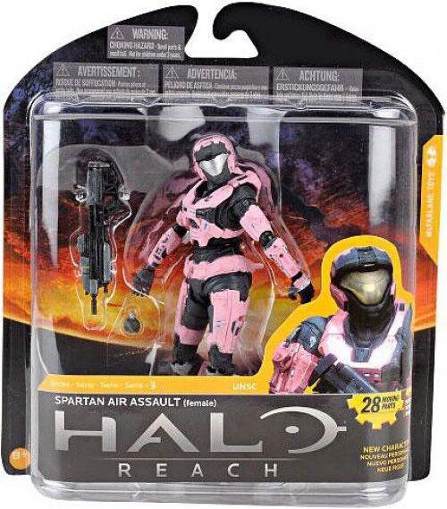 McFarlane giocattoli Halo Reach Series 3 Spartan Air  Assault azione cifra [Female]  edizione limitata