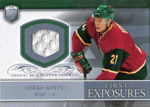 brand new 7d8a4 c5ce2 06-07 Be A Player Mikko Koivu Portraits First Exposures ...