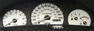 ST Lockwood Ford Scorpio WHITE Dial Kit 8023