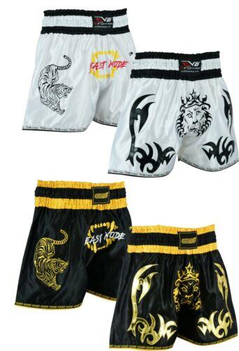 EVO Pro Muay Thai Fight Shorts MMA Kick Boxing Grappling Martial Arts Gear UFC G