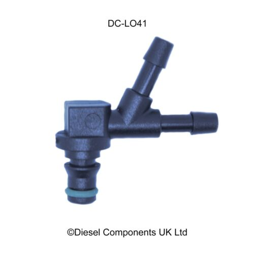 Ford Fusion Duratorq Siemens Diesel Fuel Injector Leak Off Connector