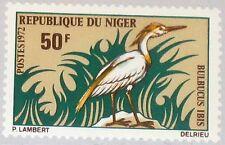 NIGER 1972 340 254 Birds Bird Vögel Vogel Fauna Cattle Egret Kuhreiher MNH