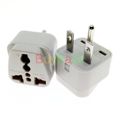 5 PCS North American US NEMA 6-15P Electrical Plug Adapter Universal Outlet BK