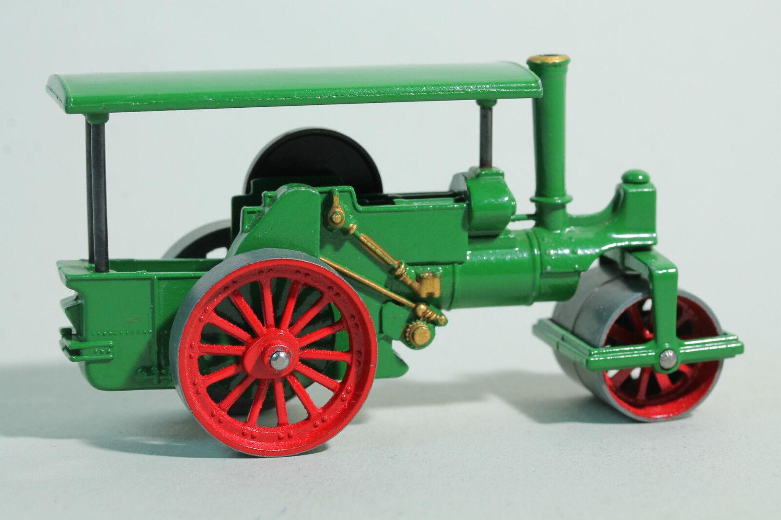 1920 MATCHBOX Yester Year-No 11 2 Aveling Porter Steam Roller-LESNEY Prod.