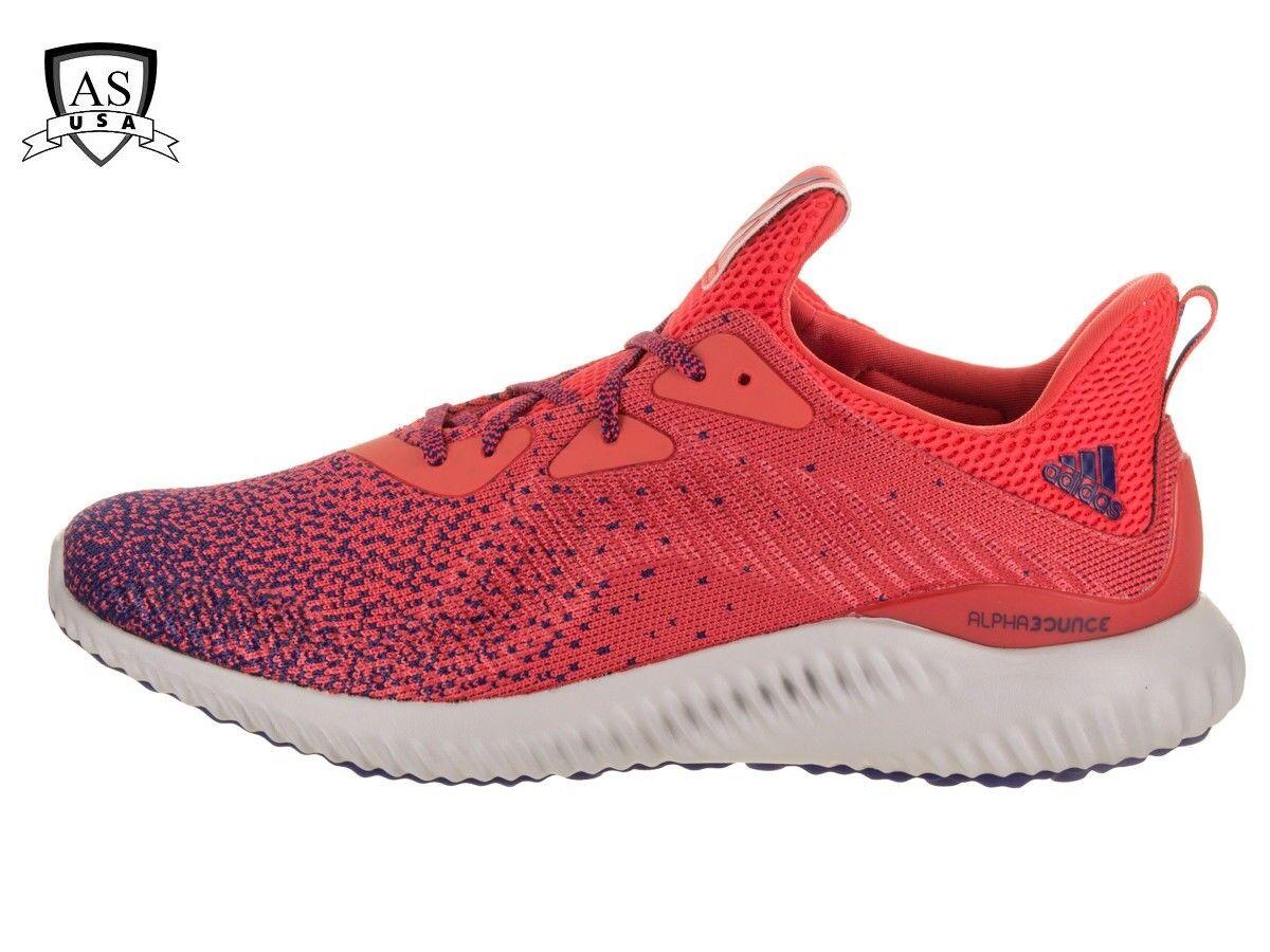 Adidas männer alphabounce ck laufschuh echt cq0408 lila / echte korallen cq0408 echt größe 10,5 6d182b