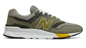 NEW-BALANCE-997H-Scarpe-Casual-Uomo-Sneakers-GREEN-GOLD-CM997HEZ