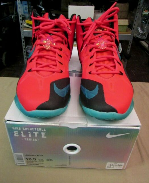 81f6accdd1a2 Nike Lebron XI Elite Super Hero Basketball Shoes Men s Size 10.5 ...