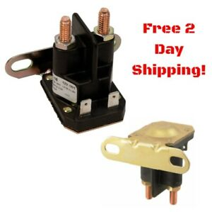 Details About Starter Solenoid Relay For Mtd Cub Cadet John Deere 12v Lawn Mower Tractor Engin