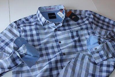Tommy Bahama Shirt Safi Stripe French Lilac Silk Blend T317459 LS New Medium M