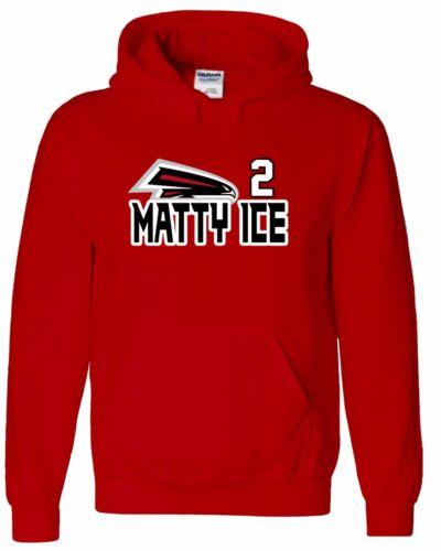 "Atlanta Falcons Matt Ryan /""Matty Ice/"" jersey Hooded SWEATSHIRT HOODIE"