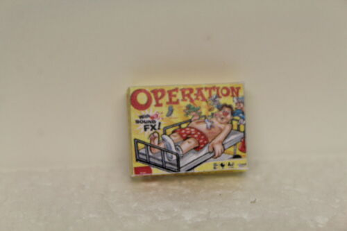Dolls house handcrafted box opération