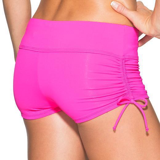 ATHLETA Scrunch Short, NWT, Medium, Hot Pink, So Cute