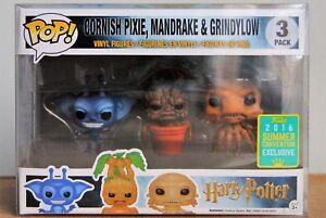 Funko Pop Harry Potter - Cornouailles Pixie Mandrake & Grindylon Convention Exclusive
