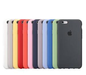 Original-Silicone-Case-Luxury-For-Apple-iPhone-XS-Max-XR-7-8Plus-6S-Genuine-OEM