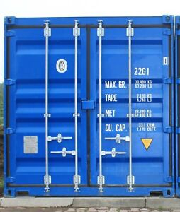 20 ft Seecontainer / Container / Lagercontainer / 20 Fuß - Bad Sassendorf, Deutschland - 20 ft Seecontainer / Container / Lagercontainer / 20 Fuß - Bad Sassendorf, Deutschland