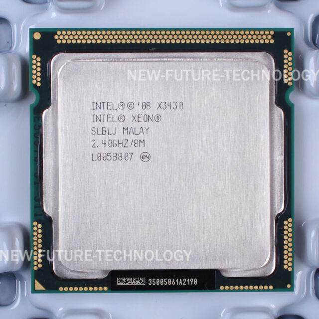 Intel Xeon X3430 (BX80605X3430) SLBLJ CPU 2.5 GT/s 2.4 GHz LGA 1156 100% Work