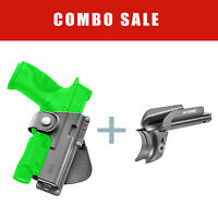 Aluminium Accessory Rail + Tactical Holster For Sauer P226 - 226 Pr Em17 Ls