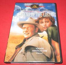 Legend of the Lost (DVD, 1957) John Wayne , Sophia Loren RARE Western FREE SHIP!