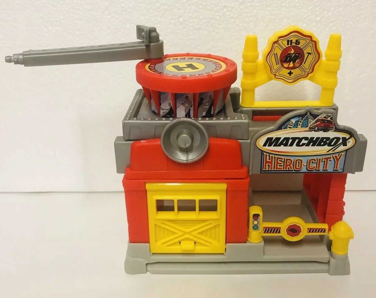 De Sky Lavado Ciudad Playset Mattel Matchbox Héroe ZOiPukX