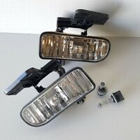 For Gmc 1999-2002 Sierra 2000-2004 Yukon Clear Fog Light Replacement With Bulbs