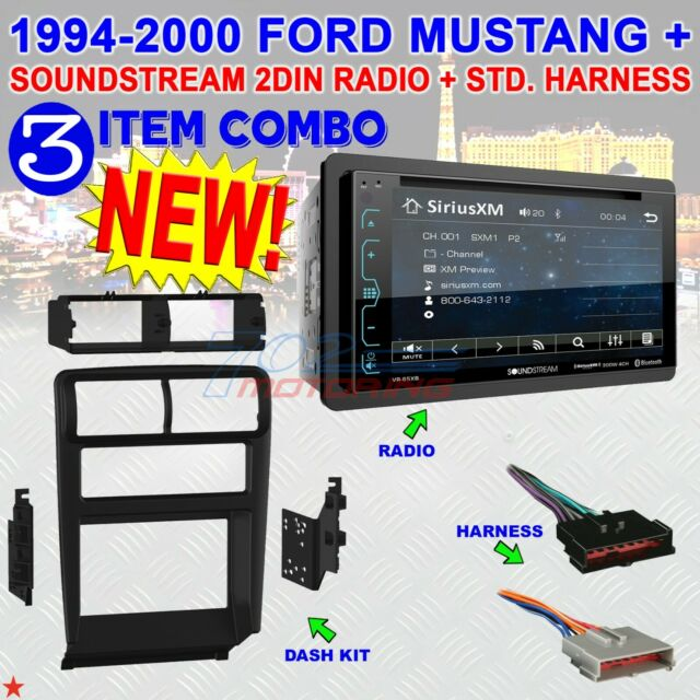 2000 Mustang Gt Stereo Harness