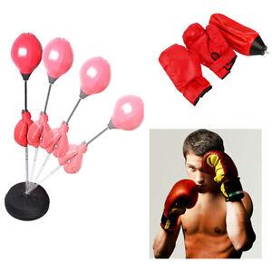Boxen Set Punchingball Punching Training Standboxsack Standbox Boxbirne Boxsack Weitere Sportarten Boxen