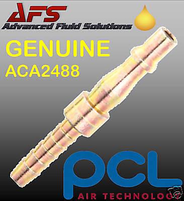 "10 Genuine PCL 3//16/"" Hose Tail Adaptor Air Line Fittings High Quality ACA2486"