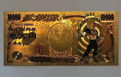Black Goku Gold Money Card