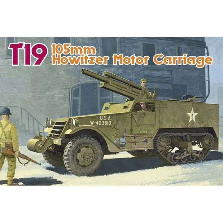 Dragon  35 T19 105mm Howitzer Motor Carriage