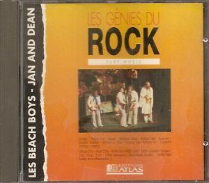 MUSIQUE-CD-LES-GENIES-DU-ROCK-EDITIONS-ATLAS-BEACH-BOYS-JAN-AND-DEAN-N-5